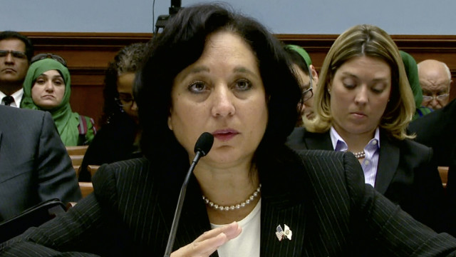 DEA Director Michelle Leonhart testified about the three agents allegedly involved with prostitutes in Colombia.