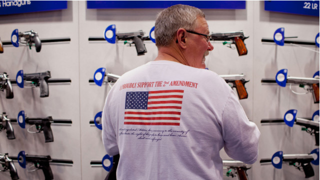 Gun control in crosshairs at NRA convention