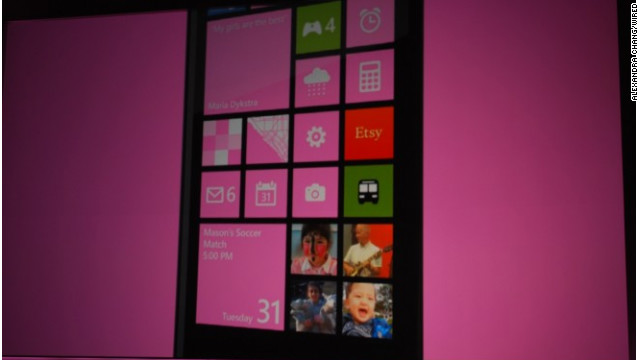Windows Phone 8's Live Tiles are its
