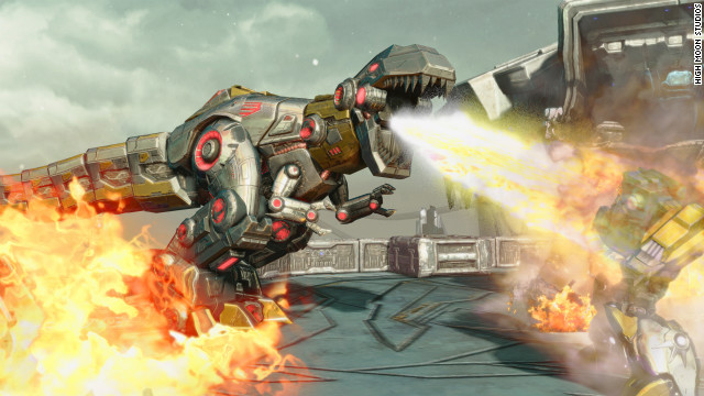 Dinobots' triumphant return!