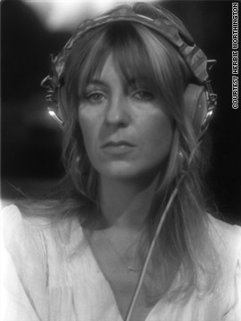 Keyboardist and vocalist Christine McVie also wrote many of Fleetwood Mac's songs.
