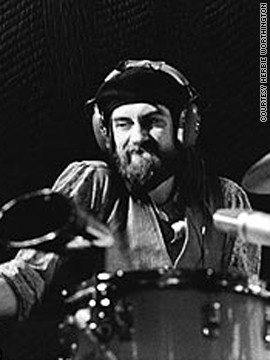 Mick Fleetwood on drums.