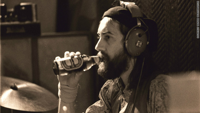 Bandleader Mick Fleetwood.