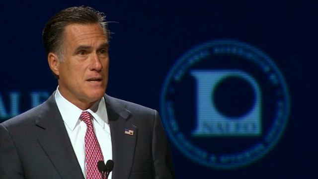 Mitt Romney needs to offer substantive policies and not just happy talk in his NAACP speech next week, Roland Martin says.