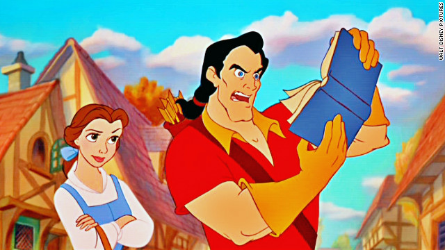 "Belle is literate and brave. She takes care of her father, fends off an arrogant hunk and teaches table manners to an enchanted prince in 1991's ""Beauty and the Beast."""