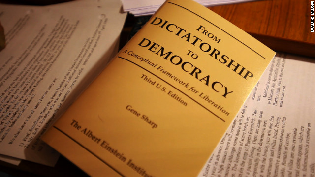 Political Scientist Gene Sharp wrote a manual on how to overthrow dictatorships