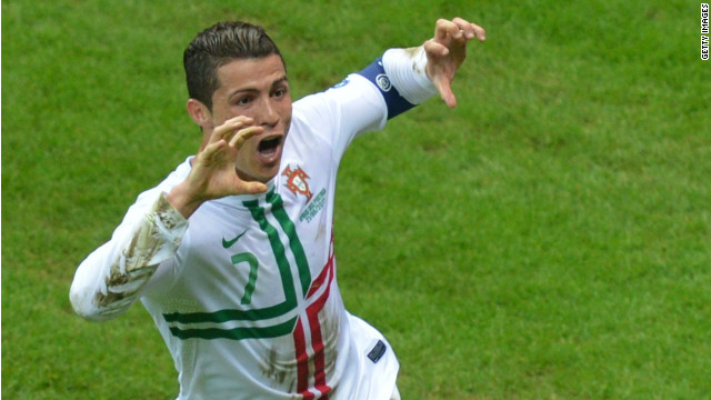 Cristiano Ronaldo scored his third goal of the tournament to set up a semifinal clash against France or Spain.
