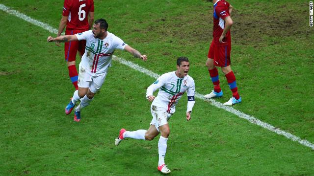 Portugal, primer equipo en avanzar a semifinales de la Eurocopa