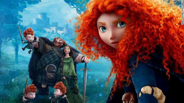 Valiente, la nueva película de Pixar que le da voz y protagonismo a las niñas