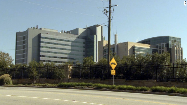 The CDC building in Atlanta, Georgia.