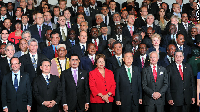 Twenty years after the historic Earth Summit, world leaders once again gathered in Rio de Janeiro for the Rio+20 -- the United Nations Conference on Sustainable Development. But there were some notable absentees including U.S. President Barack Obama and Germany's Angela Merkel.