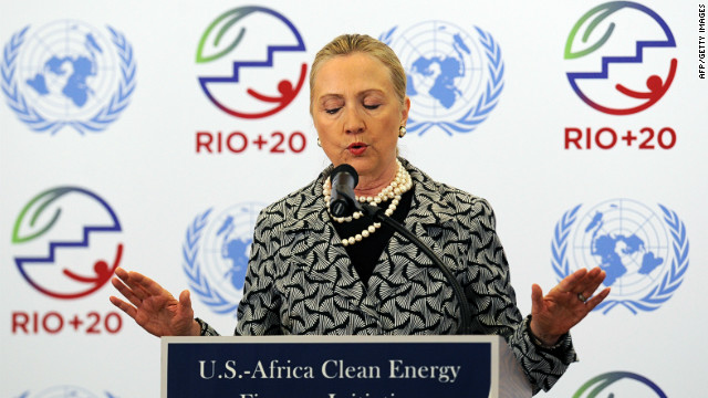 Speaking on the final day of the summit, U.S. Secretary of State Hillary Clinton described the agreed text as &quot;a very good document.&quot; She added: &quot;This is the vision on which we can build our dreams, our visions and it is important that the member states are united and work together.&quot;