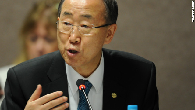 Under the stewardship of U.N. Secretary-General, Ban Ki-moon (pictured) and Brazil's President Dilma Rousseff, governments have been negotiating over measures and actions laid out in