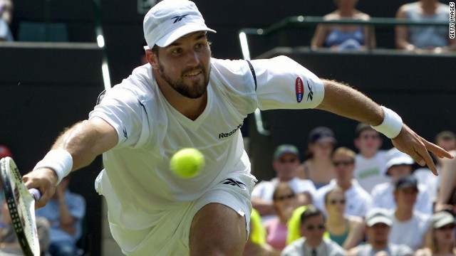 One of the most naturally gifted serve and volley players, Pat Rafter combined pinpoint placement with silky work at the net. The Australian twice fell short in the Wimbledon final but won two U.S. Opens in the late 1990s.
