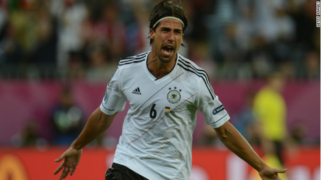 Sami Khedira restored Germany's lead on 61 minutes with one of the goals of the tournament so far.