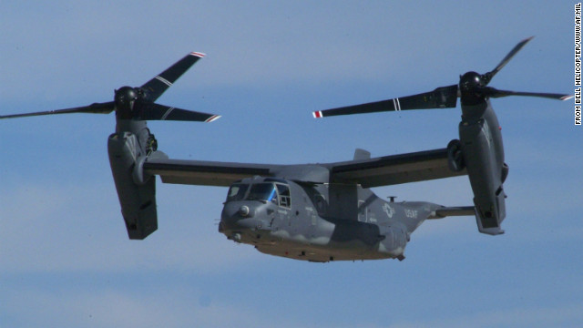 The tilt-rotor CV-22 Osprey can fly like an airplane and land like a helicopter.