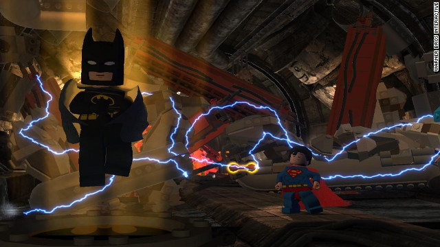 Superman and more than 50 other heroes help out the Caped Crusader in