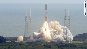 NASA\'s Curiosity rover heads for space November 26 atop an Atlas 5 rocket at Cape Canaveral, Florida.
