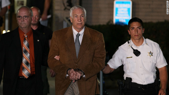 Sandusky could be sentenced on October 9