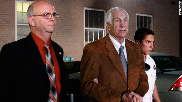 Sandusky's pastor addresses conviction from pulpit