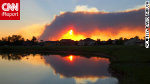 Colorado\'s wildfire has swelled to 75,500 acres.
