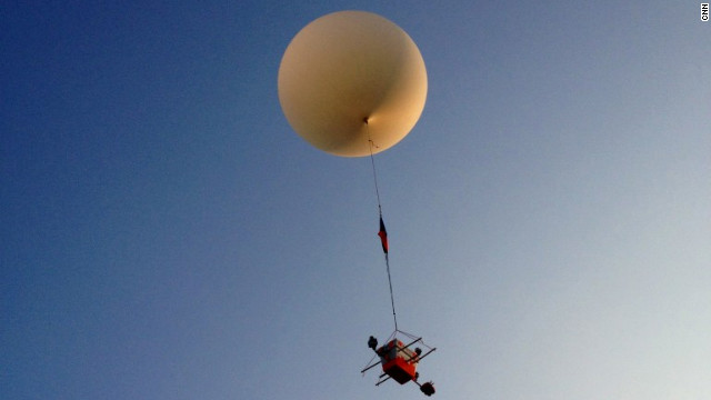 CNN launches balloon mission to 'near space'