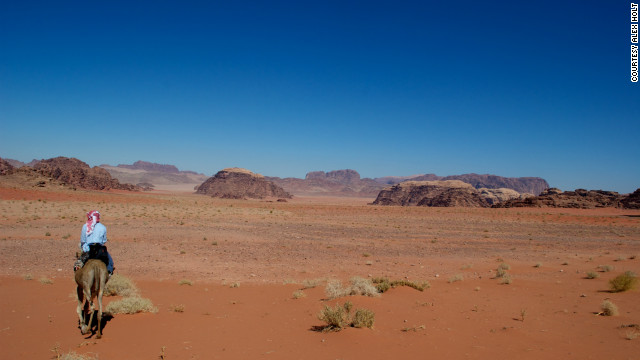 """Vast, echoing, and God-like."" These words were used by Lawrence of Arabia to describe Wadi Rum, almost a century ago."