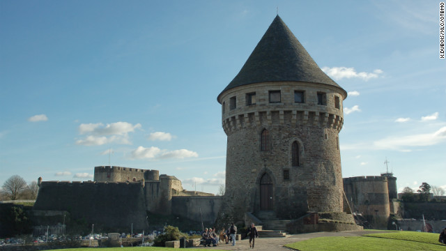 "Brest was more or less destroyed in the ""Battle of Brest"" during World War II, but it has since been completely rebuilt. One of the few Medieval monuments still standing is ""Tanguy Tower."" Constructed on an enormous block of granite, it now houses the Brest Museum, guiding visitors through the city's origins and development."