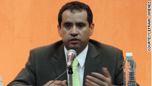 Efrain Jimenez says voting in Mexican elections \