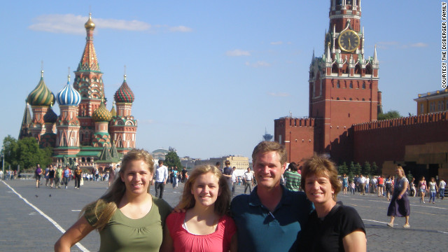 St. Basil's Cathedral, left, is a Disberger favorite. The Kremlin is on the right.<br/><br/>