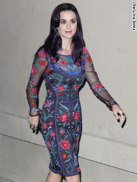 "Katy Perry visits ""Jimmy Kimmel Live!"" in West Hollywood."
