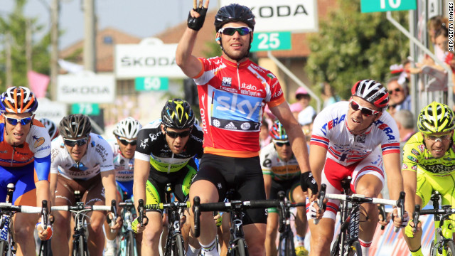  World champion Mark Cavendish warmed up for the Tour by winning three stages of the Giro D'Italia. The Sky rider will be defending his sprinters' Green Jersey in France.