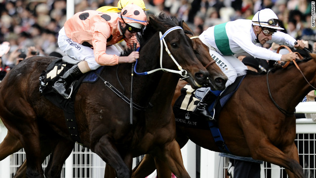 Australian &quot;supermare&quot; Black Caviar made it 22 wins from 22 races at Royal Ascot on Saturday, but only just. It took a photo finish to seperate Black Caviar and second-placed horse Moonlight Cloud.