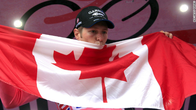 Ryder Hesjedal became the first Canadian to win a major cycling tour when he took this year's Giro D'Italia, and the Garmin star will be aiming for a double in the Tour de France. 