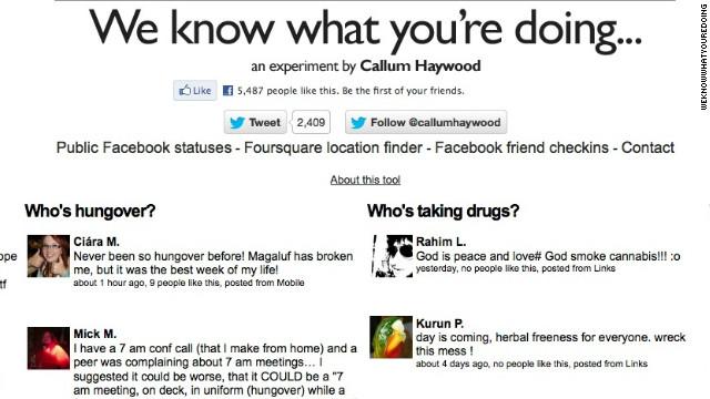 """Un sitio muestra los """"posts"""" vergonzosos de Facebook que tu jefe no debería ver"""