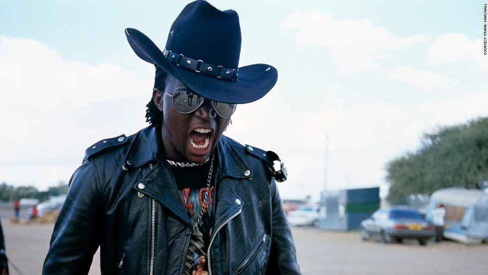 South African photographer Frank Marshall captured Botswana's heavy metal rockers as part of his Renegades series.