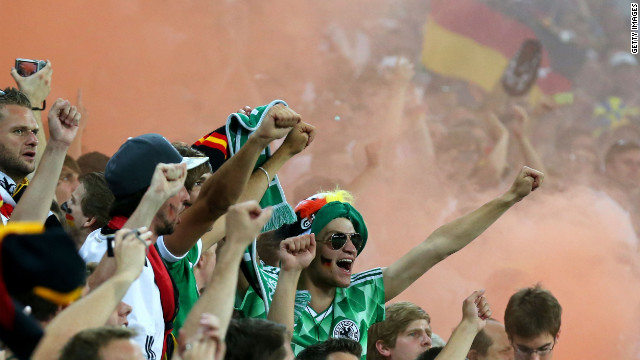 Germany fined after soccer fans display neo-Nazi symbols