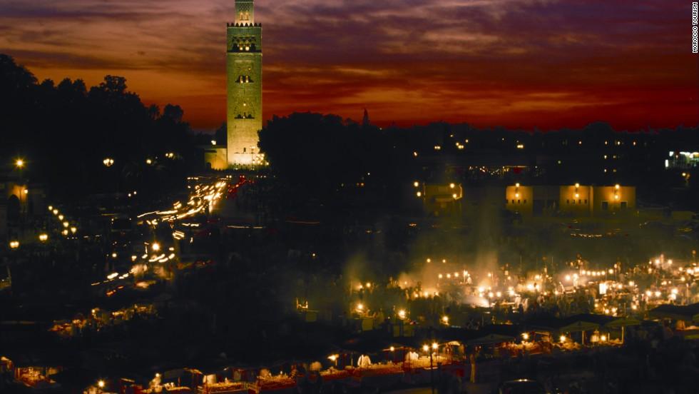Djemaa el Fna, Marrakech, Marruecos