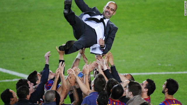 A fair comparison between the business and football worlds would be former Barcelona coach Pep Guardiola and Steve Jobs, the late Apple CEO, Carson said. Both lived their vision (in Jobs' case innovative product design and in Guardiola's a style of play) dragging their respective institutions along with them.