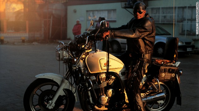 "Rather than Hell's Angels, Gunsmoke believes the rockers are increasingly seen as guardian angels. ""Kids follow us around. Parents approach us. We're there for a good cause actually. We help people on the streets at night,"" he said."