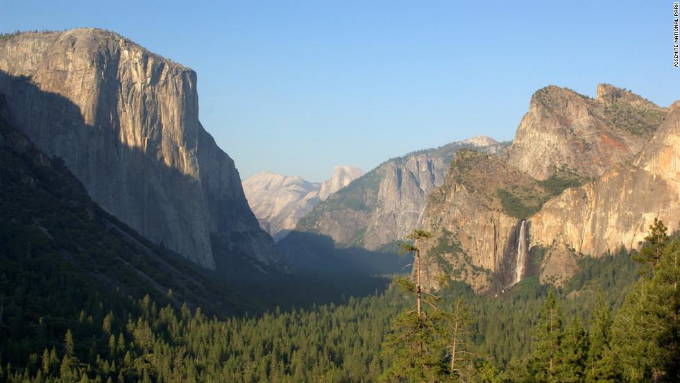 Las Montañas de Yosemite, California