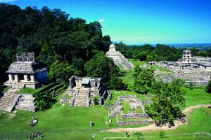 Pirámides en la selva, Palenque, México