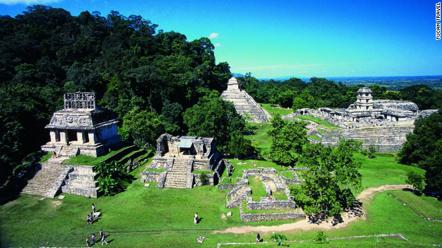 No, the world won't end in 2012, so we have lots of time to see the Mayan ruins in Palenque.