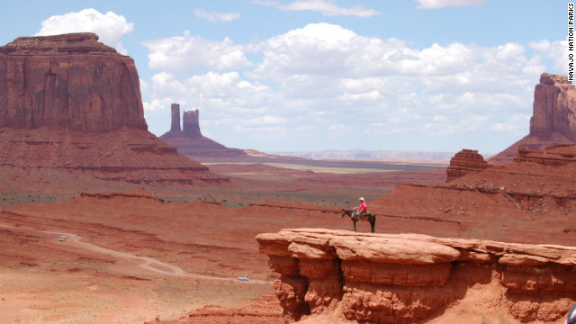 Monument Valley's even more beautiful than the movies.