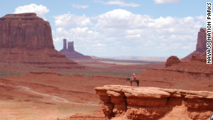 The itinerary includes a trip to Monument Valley in the American Southwest.
