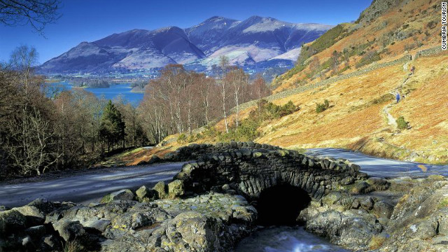 Head to the Lake District to ponder like a poet.