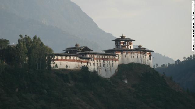 Un incendio termina con el patrimonio arquitectónico de Bután