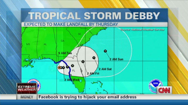Tropical Storm Debby Continues To Pummel Florida Coast Gov Rick Scott Discusses State Response