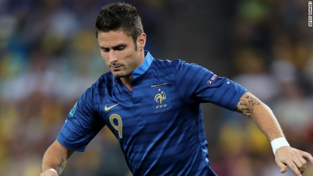 Giroud scored 21 goals in 36 games for Montpellier last season.