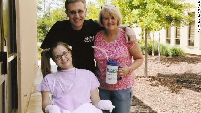 Family releases photo of a recovering Aimee Copeland